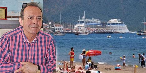 Marmaris'te turist sayısı düştü!