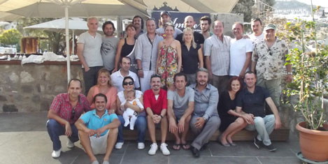 Müzisyenler Bodrum'da buluştu
