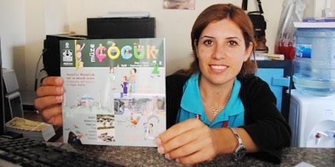 Çocuklara Müze Çocuk dergisi