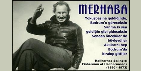 'Halikarnas Balıkçısı' etkinlikle anıldı