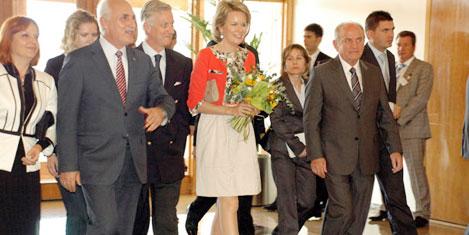 Belçika Veliaht Prensi Türkiye'de