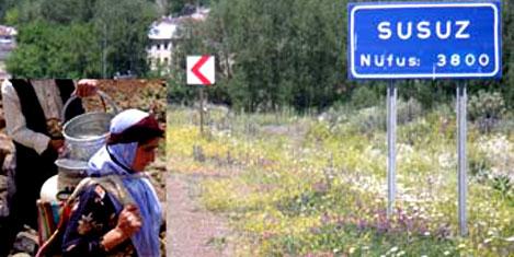 Susuz köy 5 yıldızla turizme açıldı