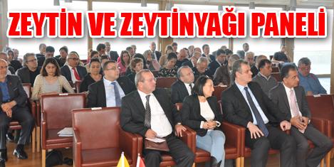 İTO'nun Zeytin ve Zeytinyağı Paneli