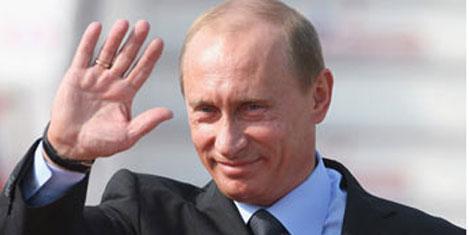 Rusya Başbakanı  Putin Türkiye'de