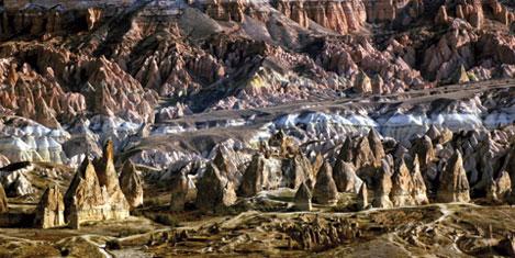 Kapadokya'da 12 ay doğru turizm
