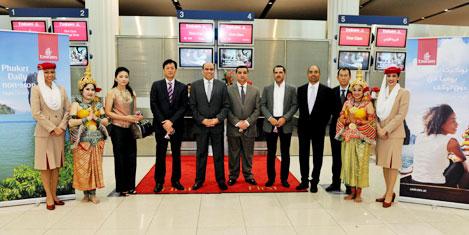 Emirates Puket'e günlük uçuyor