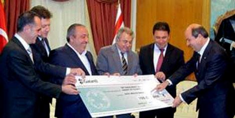 Encan'a 100 Milyon Euro'luk çek