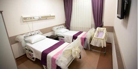 Sağlıkta 5 yıldızlı anne oteli açıldı