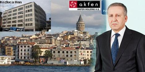 Akfen'in kira gelirleri arttı