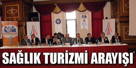 Antalya'da sağlık turizmi  paneli