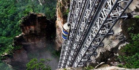 Çin'de asansör turizmi