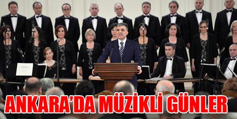Ankara'da müzikli günler başlıyor