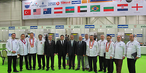 2500 aşçı İstanbul'da yarışacak