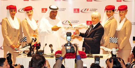Emirates ile Formula 1 ortaklığı