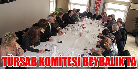 Türsab Komitesi Beybalık'ta toplandı