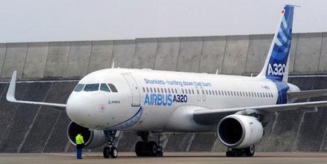 Airbus, A320'leri teslim ediyor