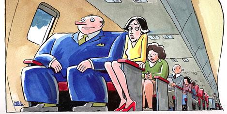 Şişmana farklı ücrete yolcular karşı
