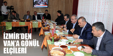 İzmir'den Van'a 'Gönül Elçileri'
