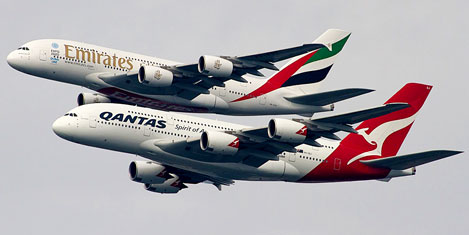 Qantas, Emirates anlaşması uzuyor