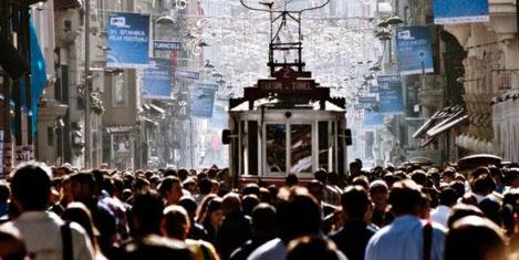 Türkiye'nin nüfusu 76.7 milyon