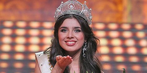 2013 Rusya Güzeli seçildi