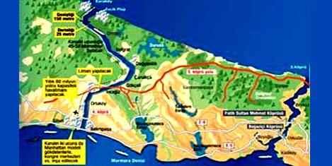 Kanal İstanbul'un primi köyler