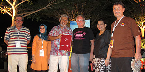 Malezya'da Samanyolu'na alkış