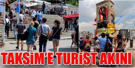 Taksim Gezi Parkı turistik oldu
