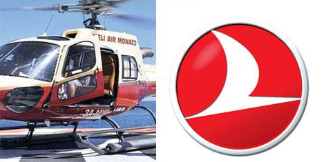 THY'den helikopterle Nice-Monaco