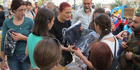 Ünlüler Gezi Parkı'nda