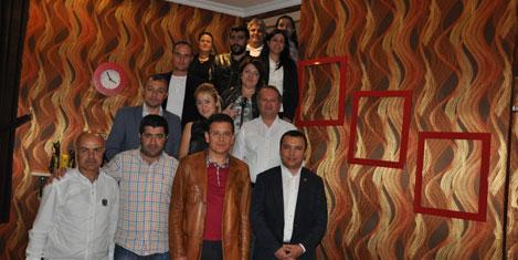 Gazetecilerle Van-Antalya köprüsü