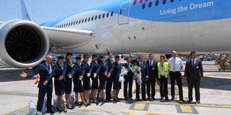 787 Dreamliner'a Çelebi hizmeti