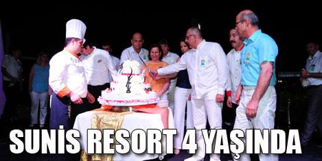 Sunis Evren Resort 4 yaşında