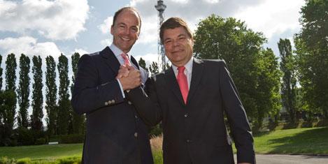 CEO handover at Messe Berlin