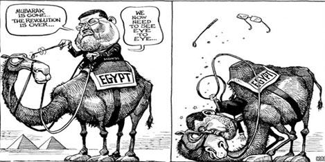 Müslüman kardeş Mursi darbe ile düştü