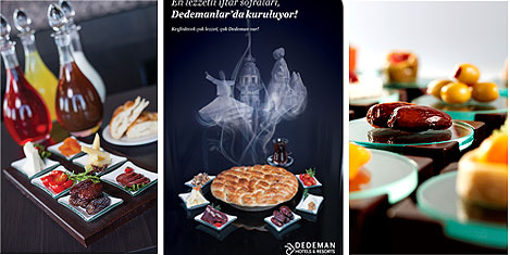 Dedeman'ın Ramazan sofrası
