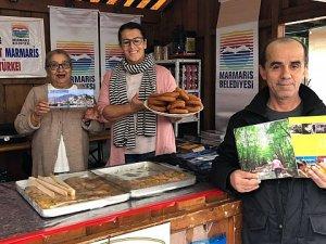 Marmaris Almanya'da Hasat Festivali'nde tanıtılıyor