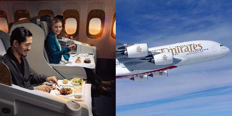 """Emirates'e """"En İyi"""" Ödülü verildi"""