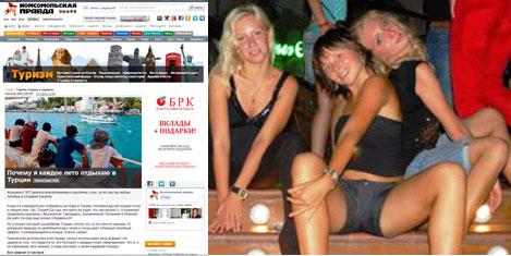 Rus turistin tatil tercihi Türkiye