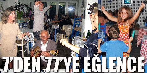 Kos'un tadı Kalymnos Taverna'da