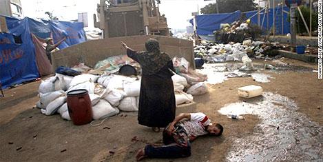Mısır vahşeti yaşıyor