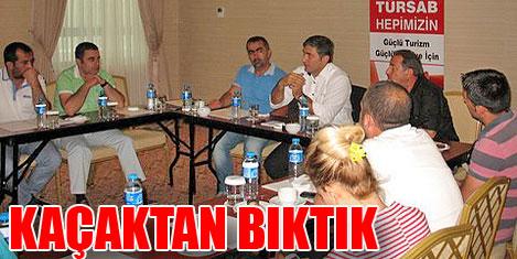 TÜRSAB üyeleri kepenk kapatıyor