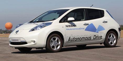 Nissan Google ile yarışacak