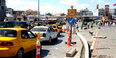 Taksim'E yeni düzenleme