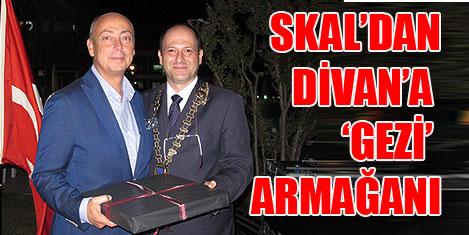 Skal'ın Divan'a 'Gezi' teşekkürü