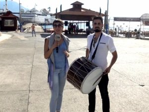 Orient Queen Alanya Limanı'na son kez demirledi