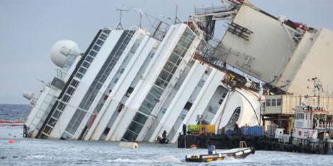 Costa Concordia uyuşturucu iddiası
