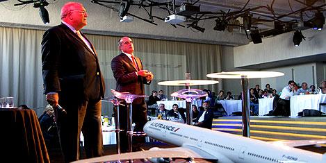 Air France-KLM'in büyüyor.