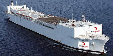 Hastane gemileri geliyor