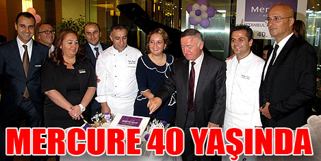Mercure Hotels 40 yaşında